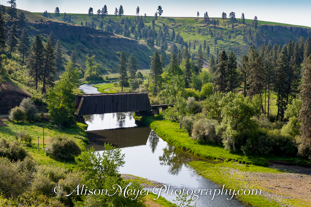 Quot Covered Bridge Over The Palouse River Near Colfax