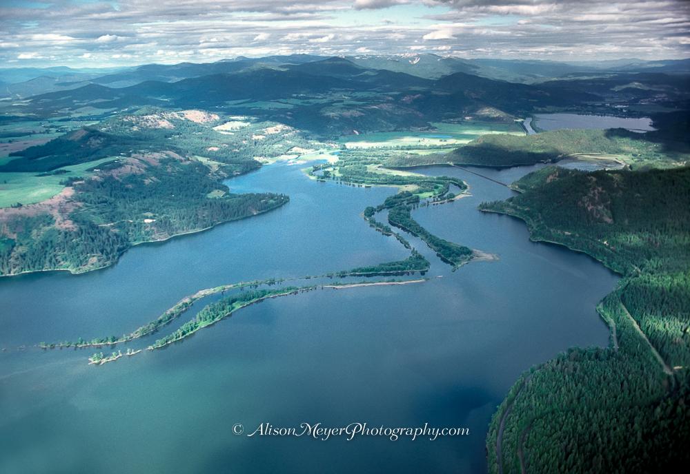 Quot Where The Saint Joe River Flows Through Lake Coeur D