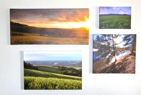 Photographs On Canvas are available in many sizes