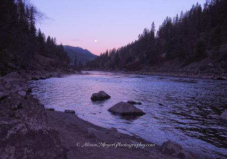 """North Fork of the Clearwater River, Idaho"""